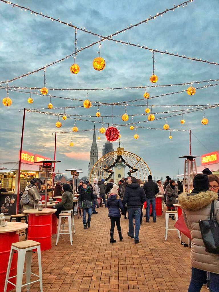 Jingle and mingle through Zagreb Advent